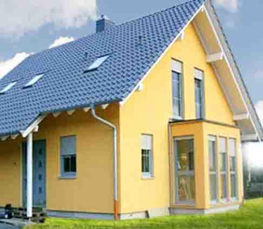 Einfamilienhaus aus holz sander haus hofgeismar for Einfamilienhaus klassisch