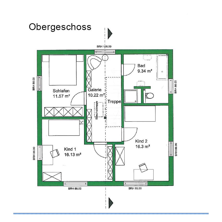 Einfamilienhaus aus holz sander haus hofgeismar for Grundriss efh modern